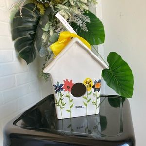 Rae Dunn Mother's Day Home Bloom Floral Birdhouse